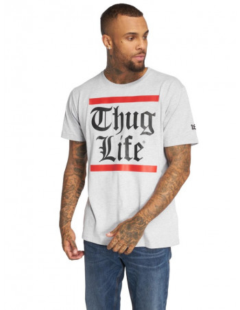 Thug Life Signature T-Shirt Grey