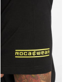 RocaWear T-Shirt NY 1999 Black/Lime