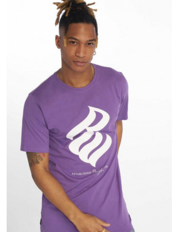 RocaWear T-Shirt NY 1999 Purple/White