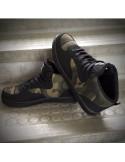 Canvas Shoes BlackNCamo by Pitbos