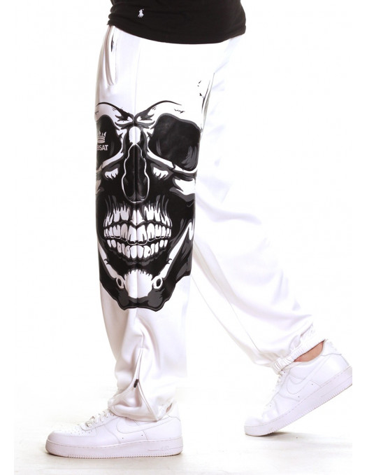 Jaws Skull Sweatpants by BSAT