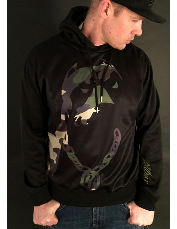 Woodland Camo Hoodie by Pitbos