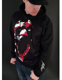 Red Camo Hoodie by Pitbos