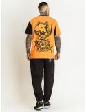 Amstaff Klixx T-Shirt BlackNOrange