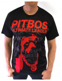 Pitbos Ultimate League Tee Vol.2 BlackNRed