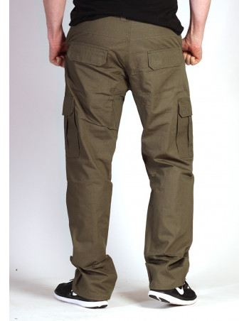 BSAT Regular Fit Combat Cargo Pants Olive Green