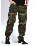 BSAT Regular Fit Combat Cargo Pants Woodland