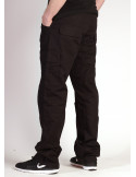 BSAT Regular Fit Combat Cargo Pants Black