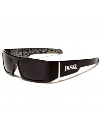 Black LOCS Sunglasses Paisley Grey