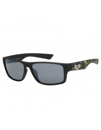Black Digital Camo Sunglasses by LOCS Woodland
