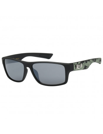 Black Digital Camo Sunglasses by LOCS