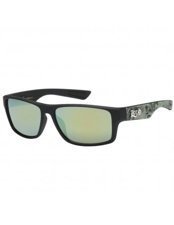 Black Digital Camo Sunglasses by LOCS Green