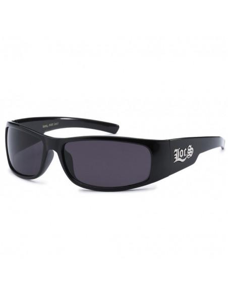 LOCS Logo Sunglasses Black 3