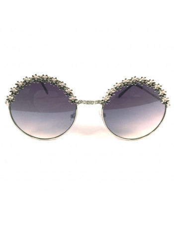 Female Silver Sunglasses