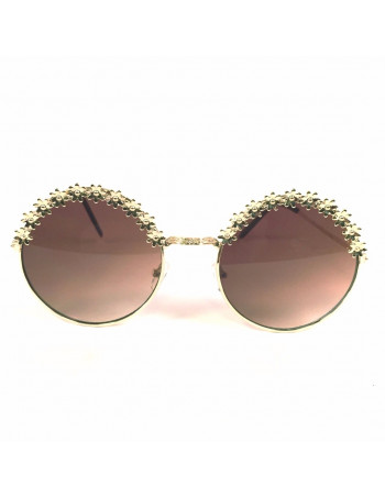 Female Gold Sunglasses