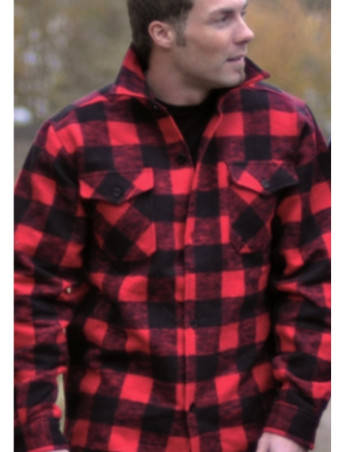 Lumberjack Shirt BlackNRed