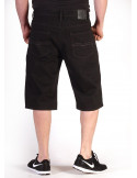 Denim Shorts Black by Access Apparel