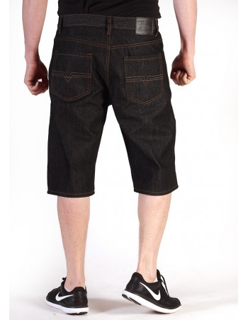Denim Shorts Raw Black by Access Apparel