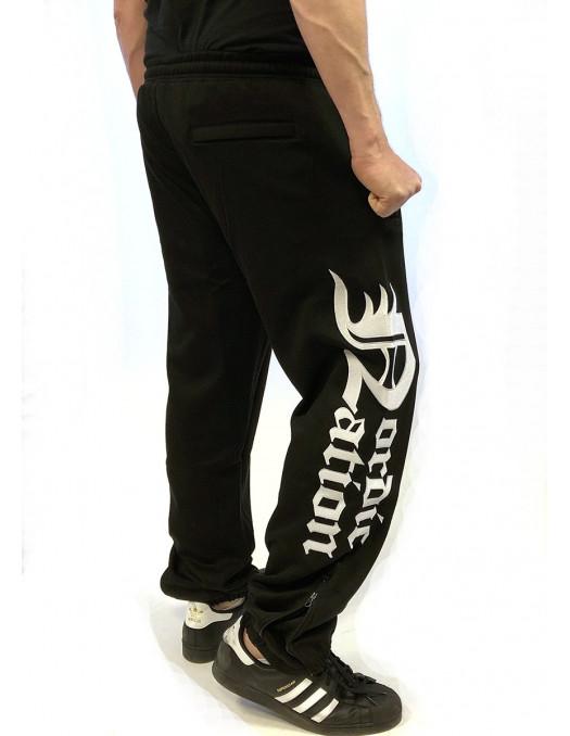 Logo Sweatpants Black by Nordic Nation