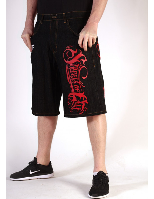 BSAT Streets of Cali Shorts Black
