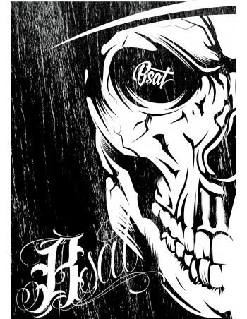 BSAT Card Skull