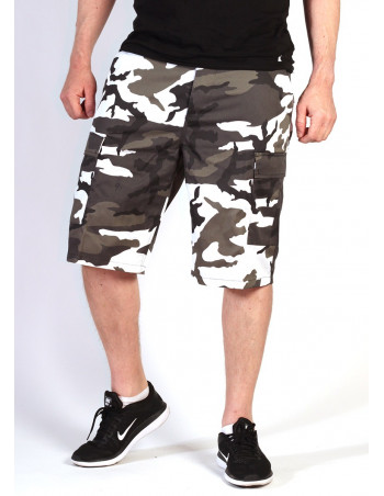 Camo Cargo Shorts Urban by Tech Wear