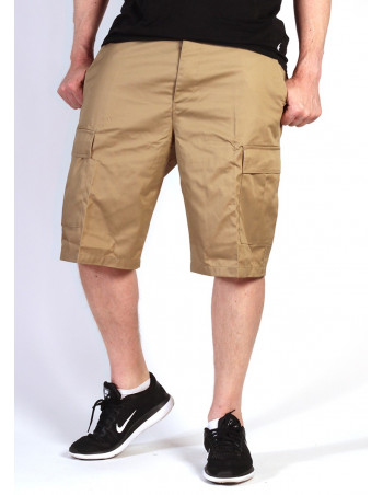 Cargo Shorts Khaki by Tech Wear