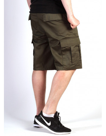 Cargo Shorts Olive by Tech Wear