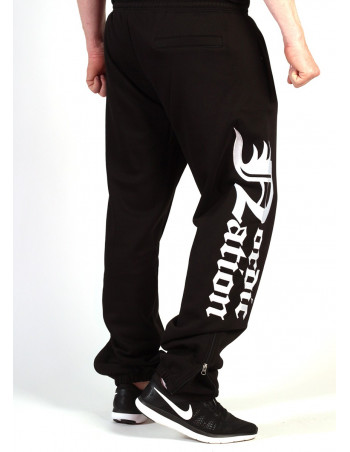 Logo Sweatpants BlackNWhite by Nordic Nation