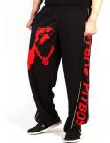 Pitbos Mesh Pants Dog Logo Red