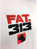 FAT313 Logo T-Shirt White