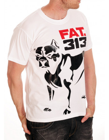 FAT313 Master T-Shirt White