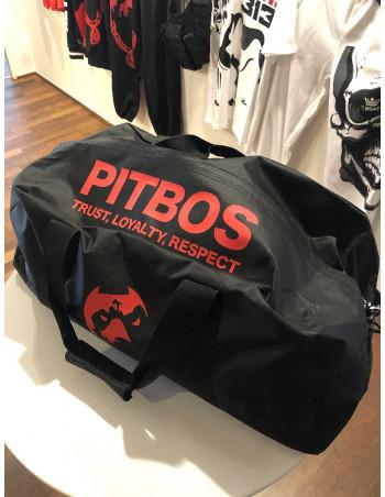 Pitbos Sportsbag Black & Red