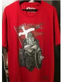 Holger Danske Cotton Premium T-shirt Front Red