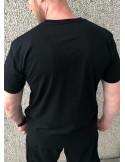 Holger Danske Cotton Premium T-shirt Front Black