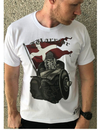 Holger Danske Cotton Premium T-shirt Front White