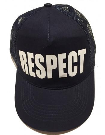 Pitbos Respect Cap Snapback Mesh NavyNWhite