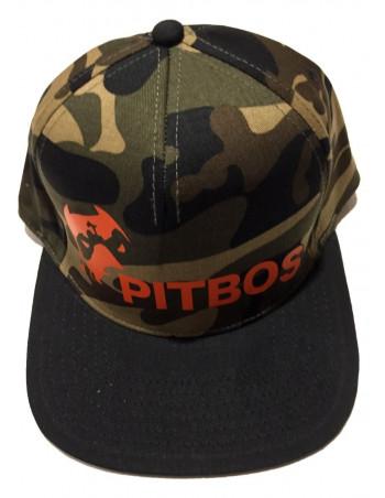 Pitbos Camo Logo Cap