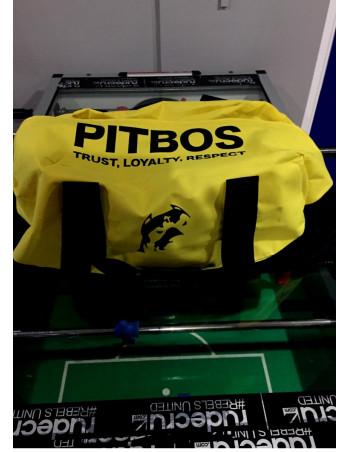 Pitbos Sportsbag YellowNBlack