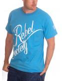BSAT Rebel Society T-Shirt SkyBlueNWhite