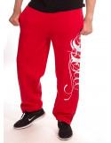 BSAT Art Script Sweatpants Red