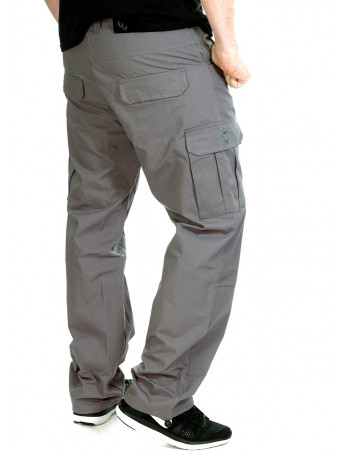 BSAT Regular Fit Combat Cargo Pants Grey