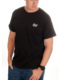 Smile Now T-Shirt Black/White/Red by BSAT
