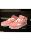 BrandDogLogo Shoes by Pitbos PinkNWhite
