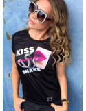 NoLimits KISS that funky Snake T-Shirt