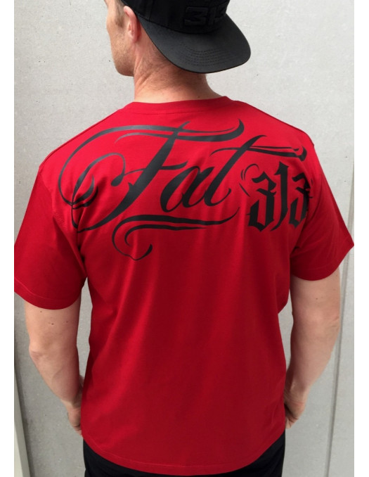 FAT313 Signature Tee Red