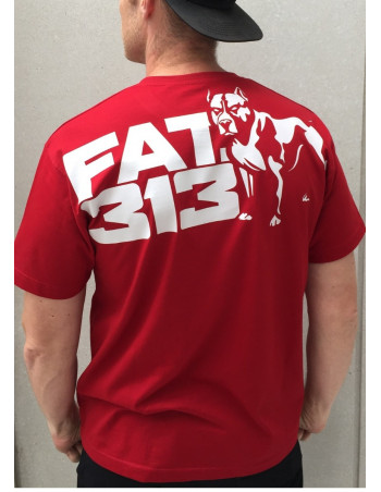 FAT313 Master T-Shirt Legend Red Premium Cotton
