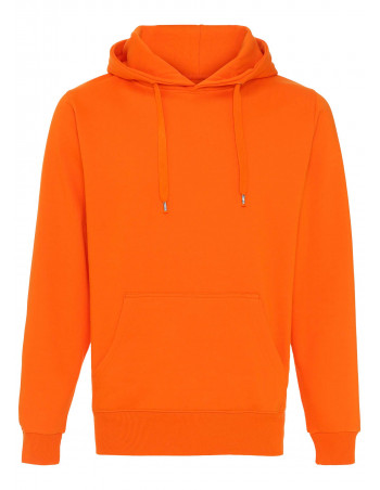 Hoodie All Orange Plain