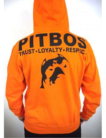 Pitbos Hoodie Orange