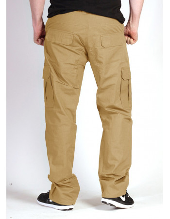 BSAT Regular Fit Combat Cargo Pants Khaki